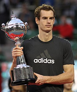Andy Murray under Japan Open i 2011