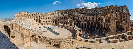 Anfiteatro, El Jem, Túnez, 2016-09-04, DD 55-66 HDR PAN