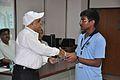 Anil Shrikrishna Manekar Presents Certificate to Mulinti Shaik Wajid - Orientation cum Selection Camp for XXI International Astronomy Olympiad - NCSM - Kolkata 2016-05-17 3816.JPG