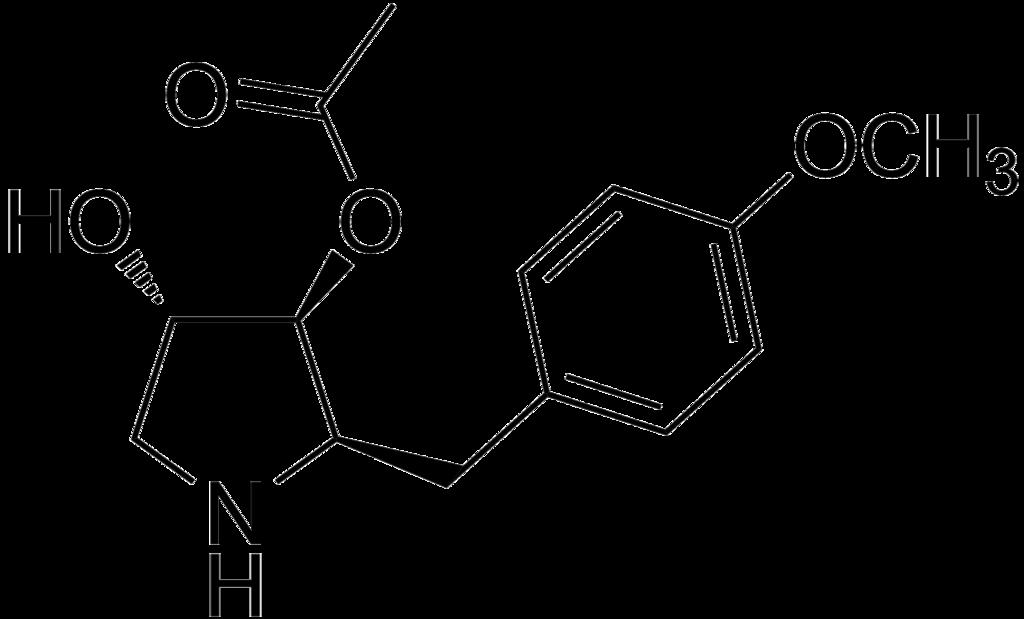 Estructura de anisomicina.png
