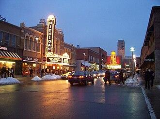 Michigan Theater (Ann Arbor, Michigan) - Image: Ann Arbor E Liberty St