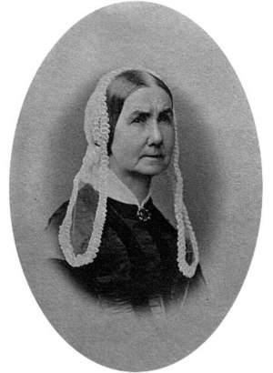 Whistler's Mother - Anna Whistler circa 1850s.