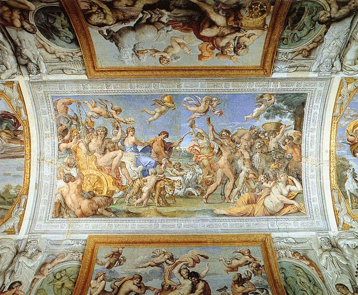 Carracci's celebrated ceiling to be cleaned