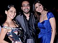 Anousha Dandekar, Raj Kundra and Shilpa Shetty at IPL, 2010 (3).jpg
