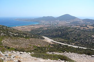Antiparos - eastern coast of Antiparos