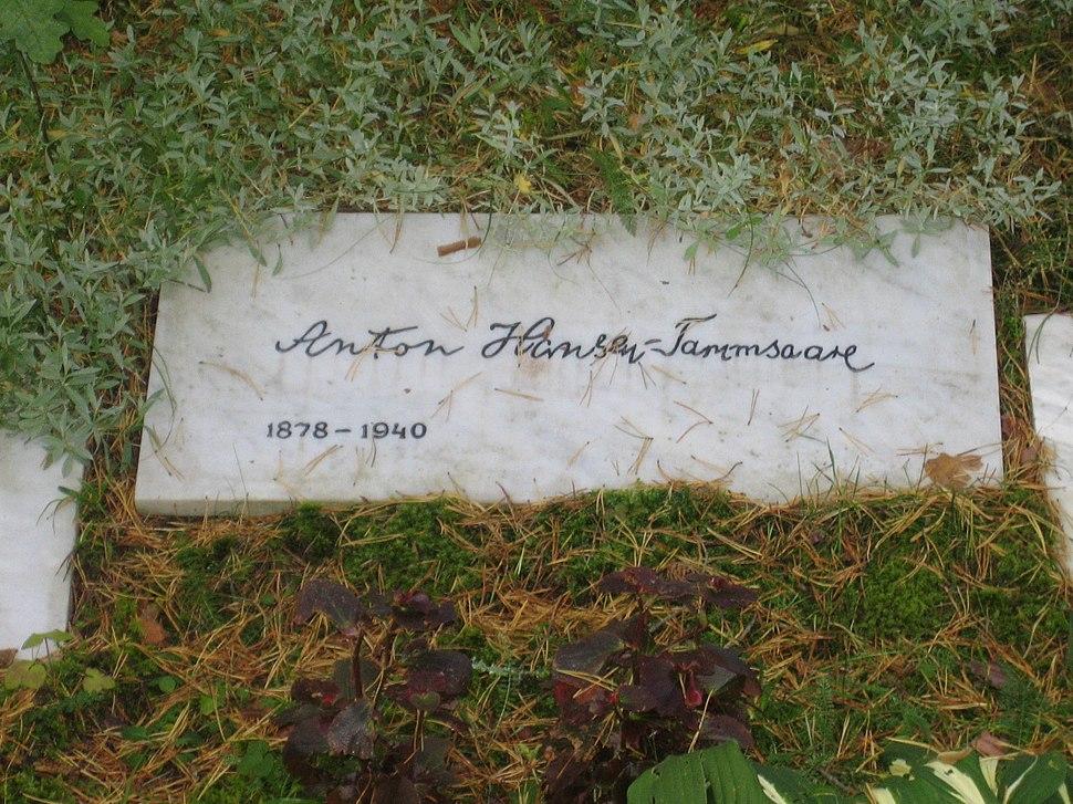 Anton Hansen Tammsaare haud