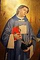 Antoniazzo romano, ss. vincenzo da saragozza, caterina d'alessandria e antonio da padova (complesso museale di s. francesco, montefalco) 02.JPG