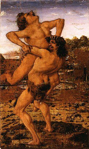 Antonio del Pollaiolo - Image: Antonio del Pollaiolo Hercules and Antaeus WGA18030