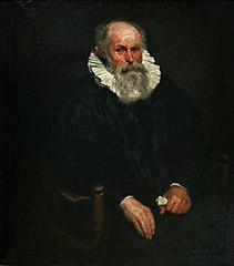 Portrait d'un homme âgé