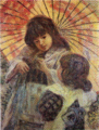 AokiShigeru-1909-Two Girls.png