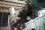 Apollo-Soyuz with Hubble Telescope in rear - Smithsonian Air and Space Museum - 2012-05-15 (7276435150).jpg