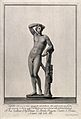 Apollo. Engraving by F. Piranesi, 1781, after L. Corazzari. Wellcome V0036075.jpg