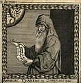 Apollonius of Tyana. Line engraving by F. Cleyn, 1659. Wellcome V0000175.jpg