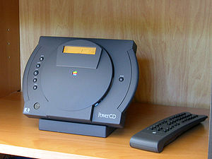 PowerCD - An Apple PowerCD with the remote control.