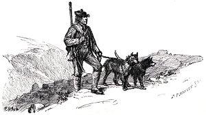 Per Gynt - Per Gynt  illustration by Peter Nicolai Arbo  from Norske Huldre-Eventyr og Folkesagn (1845)