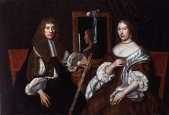 Archibald Campbell, 9th Earl of Argyll - Archibald Campbell, 9th Earl of Argyll, with his second wife Anna.