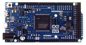 ARM Cortex-M - Arduino Due board with Atmel ATSAM3X8E (ARM Cortex-M3 core) microcontroller