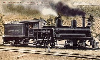 Argentine Central Railway - Shay locomotive of the Argentine Central