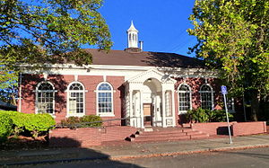 National Register of Historic Places listings in Southeast Portland, Oregon - Image: Arleta Library Portland Oregon