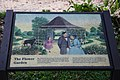 Arlington House - signage at N edge of Flower Garden - 2011.jpg