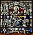 Armagh St. Patrick's Cathedral of the Church of Ireland East Window Detail Saint Patrick 2019 09 09.jpg