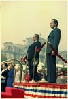 Arrival ceremony for President Tito of Yugoslavia, on the South grounds of the White House - NARA - 194385.tif