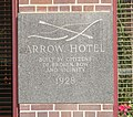 Arrow Hotel inscription.JPG