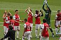 Arsenal v Chelsea Pre Kick Off (7100418125).jpg