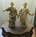 Arte del XVII sec, due figure ammantate 01.JPG