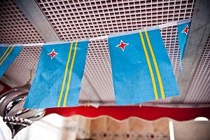 Aruba Dushi Tera - Image: Aruba flags