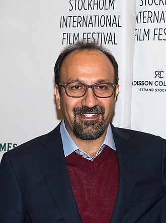 Asghar Farhadi - Farhadi at Stockholm International Film Festival 2018.