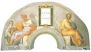 Asor und Zadoch (Michelangelo)