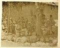 Assyrians under a walnut tree in Baz, Hakkari, c. 1900.jpg