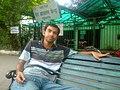 At Hazratganj booking counter in Lucknow - Flickr - Dr. Santulan Mahanta.jpg