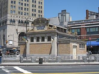 Atlantic Avenue–Barclays Center (New York City Subway) - Image: Atlantic Avenue IRT IMG 9129