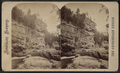 Au Sable Chasm. Pulpit Rock, from Robert N. Dennis collection of stereoscopic views.png