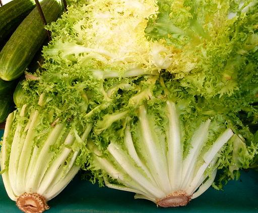 Au marché - salade frisée 2
