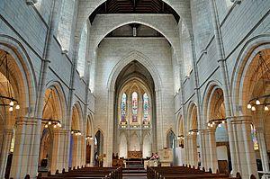 St Matthew's, Auckland - Interior