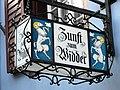 Augustinergasse - Zunft zum Widder 2012-03-20 17-48-50 (P7000).JPG