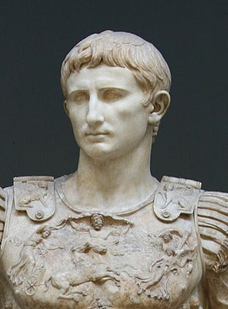 Cultural depictions of Augustus - Image: Augustus of Rome