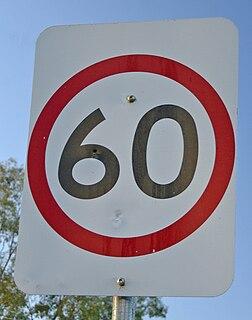 maximum legal speed of vehicles
