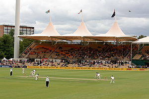 New Zealand cricket team in Australia in 2008–09 - The teams playing in the 2nd Test at Adelaide Oval