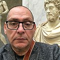 Author Saviour Pirotta, Rome Jan 2018, Vatican Museum.jpg