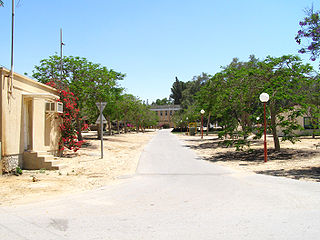 Revivim Place in Southern, Israel