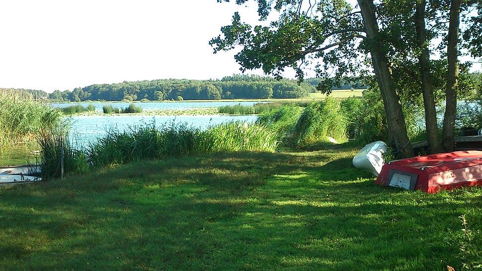 Både ved Brabrand Sø