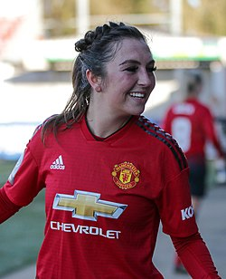 BHA Women 0 Man Utd Women 2 WFAC 4th rd 03 02 2019-1807 (32045004137) (cropped).jpg