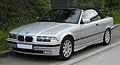 BMW 320i Cabriolet (E36 2C, Facelift) – Frontansicht, 8. Juni 2011, Wülfrath.jpg