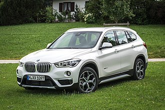 BMW X1 - Image: BMW X1 x Drive 25d (F48) Frontansicht