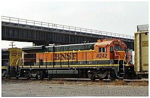 GE Dash 7 Series - A BNSF B23-7.