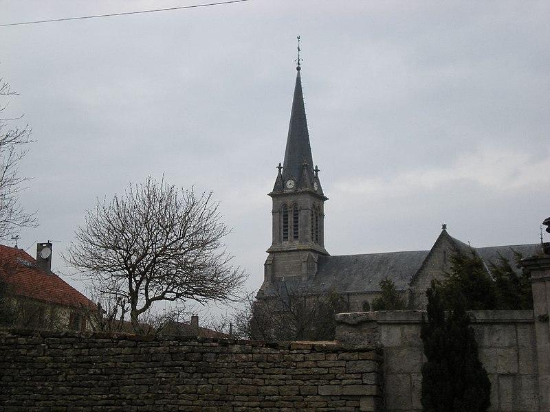 église de BOURG  ( haute marne )